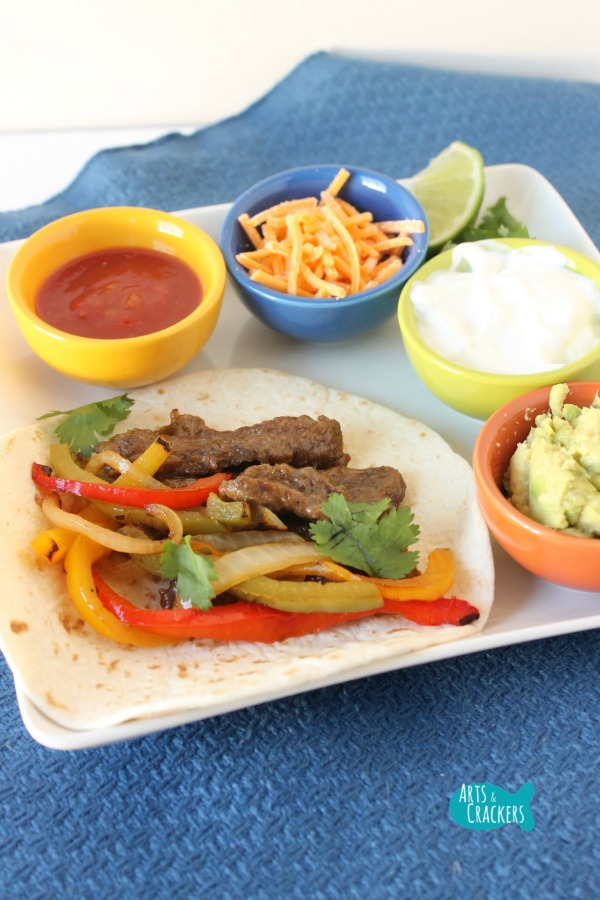 Easy Beef Fajitas Recipe Quick Dinner Long