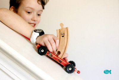 Tracks with Wheels Craft 6