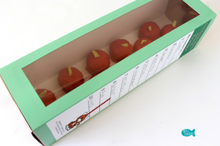 Apple Cake Pops 10