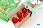 """Apple Cake Pops Teacher Gift Idea Inspired by """"Ten Apples On Top"""""""