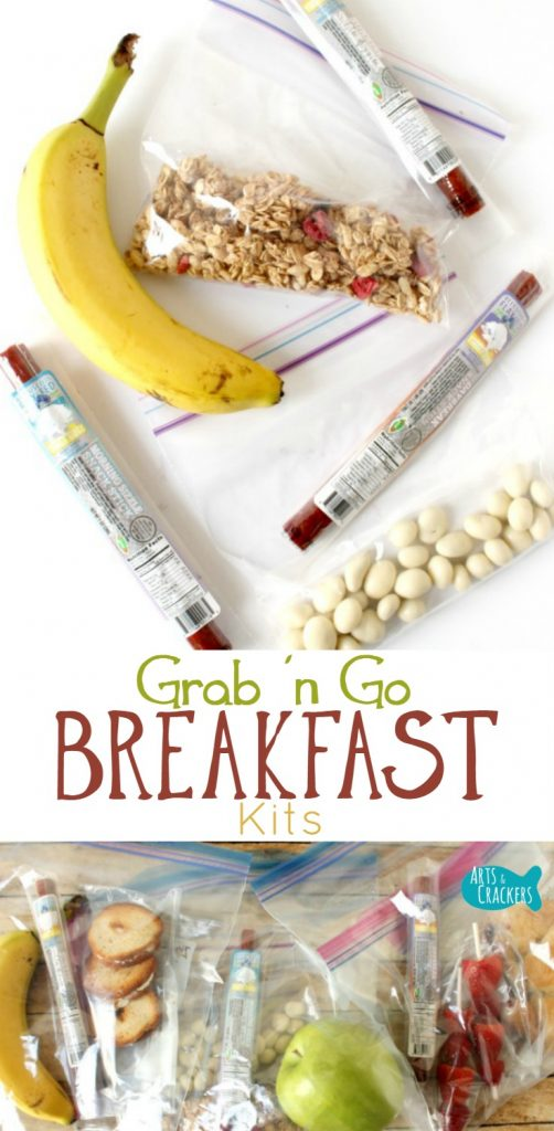 When you're stuck on breakfast ideas, these Grab & Go Breakfast Kits make mornings so much easier.