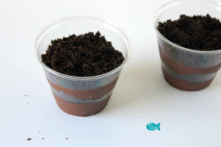 Ladybug Pudding Cup 3