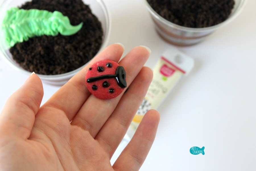 Ladybug Pudding Cup 5