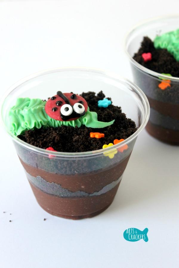Ladybug Dirt Cup Long