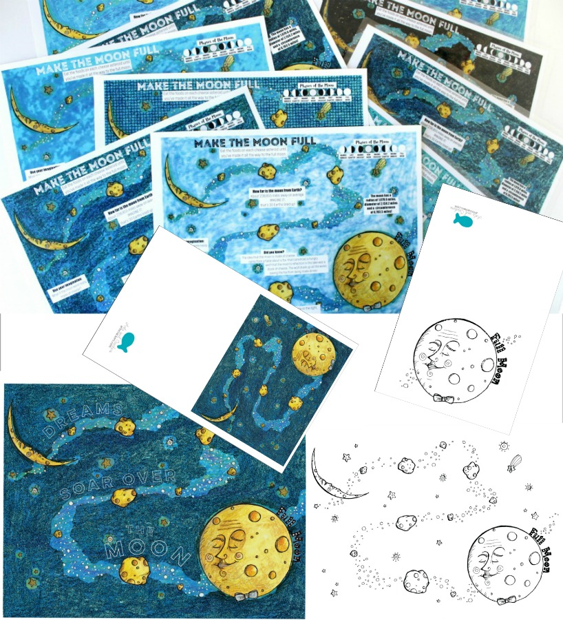 Printable 'The Hungry Moon' Collection