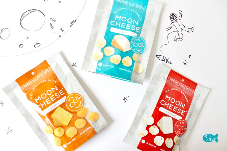 Moon Cheese Snack Varieties
