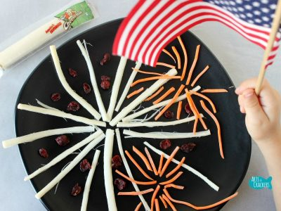 String Cheese Fireworks Snack Cover