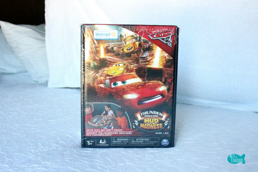 Cars 3 Game Family Time Thunder Holow Mud Madness Board Game
