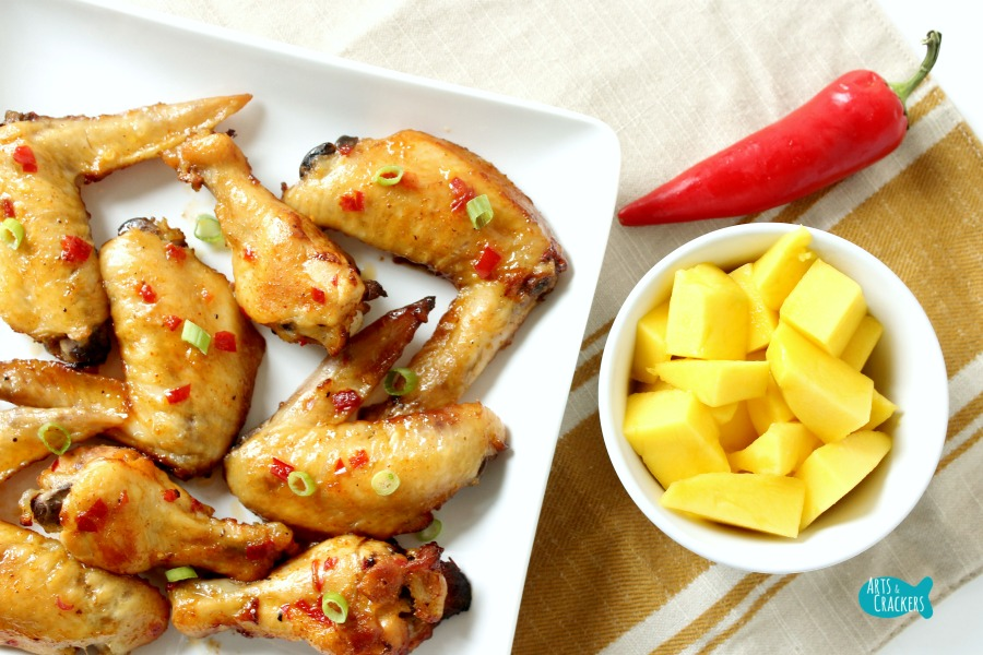 Chili Mango Chicken Wings Cover