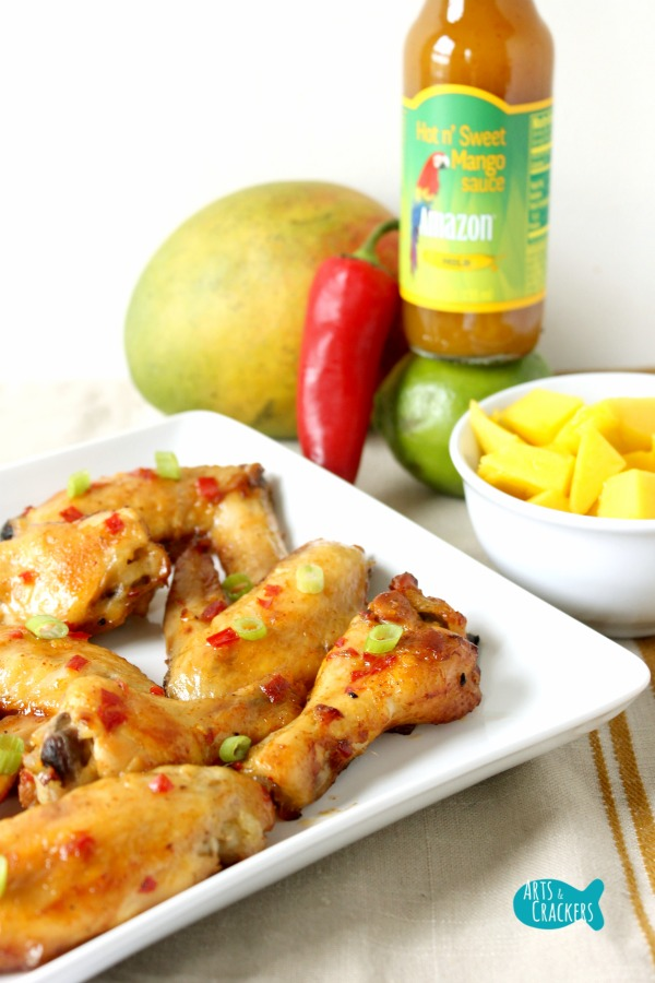 Chili Mango Chicken Wings Amazon Pepper