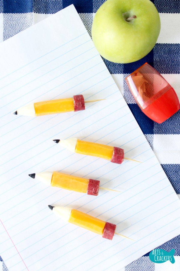 String Cheese Pencil Stubs Long 2