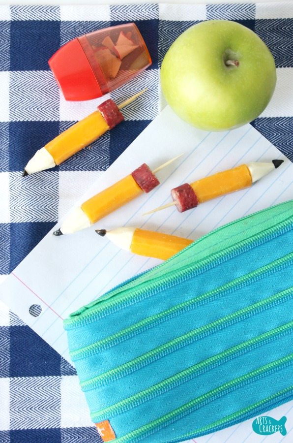 String Cheese Pencil Stubs Pencil Bag Long