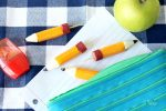 String Cheese Pencil Stubs Back to School Snack Idea