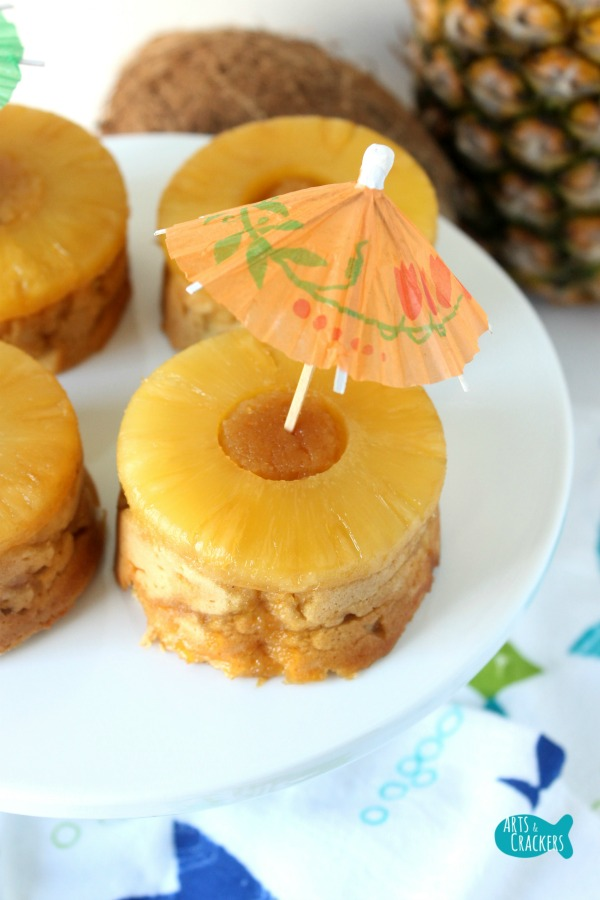 Pina Colada Pineapple Upside Down Torte Cake Gluten Free Sugar Free Long