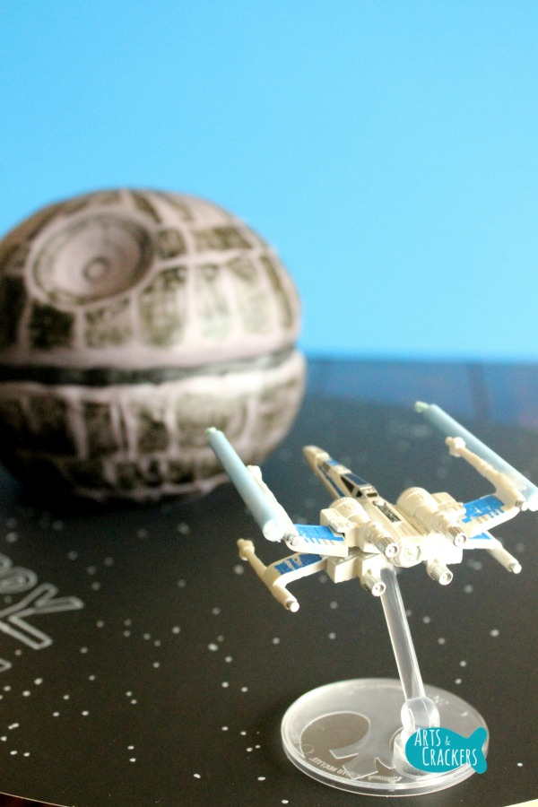 Death Star Cake Candle