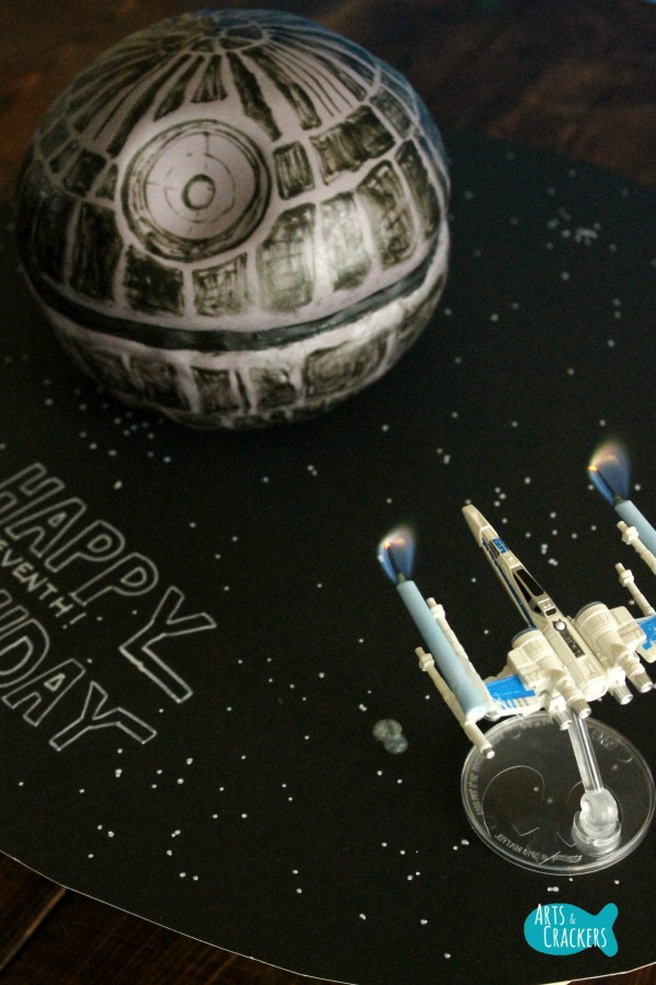 Death Star Cake Long