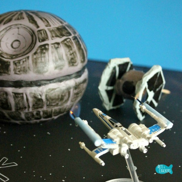Death Star Cake Works Long Square 1