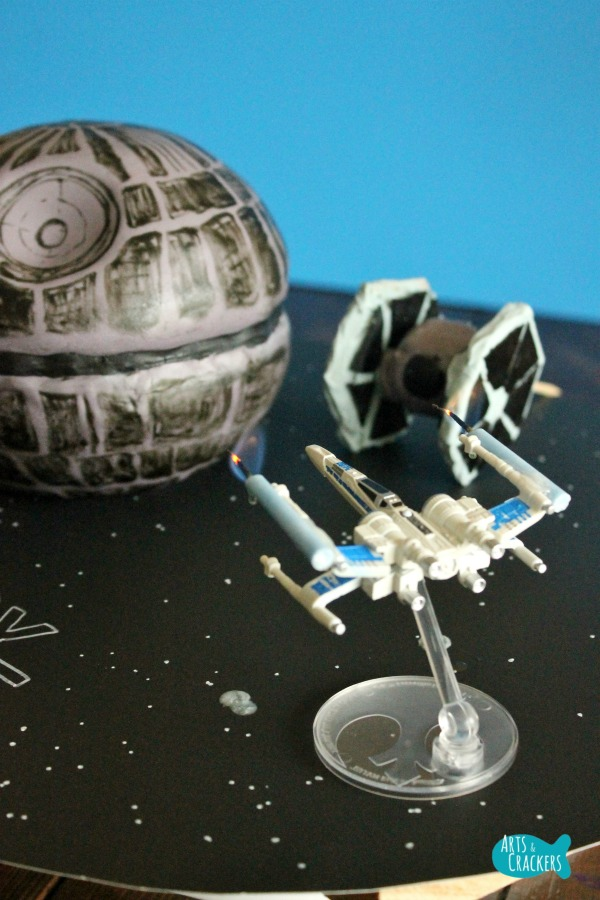 Death Star Cake Works Long
