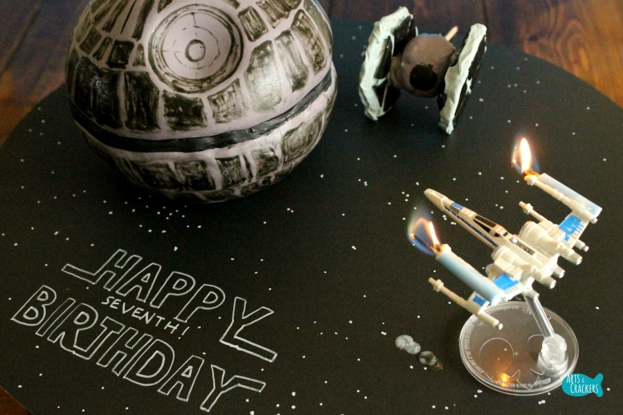Death Star Cake Works