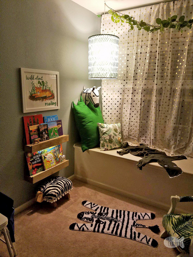 Quot Wild About Reading Quot Jungle Book Nook Makeover