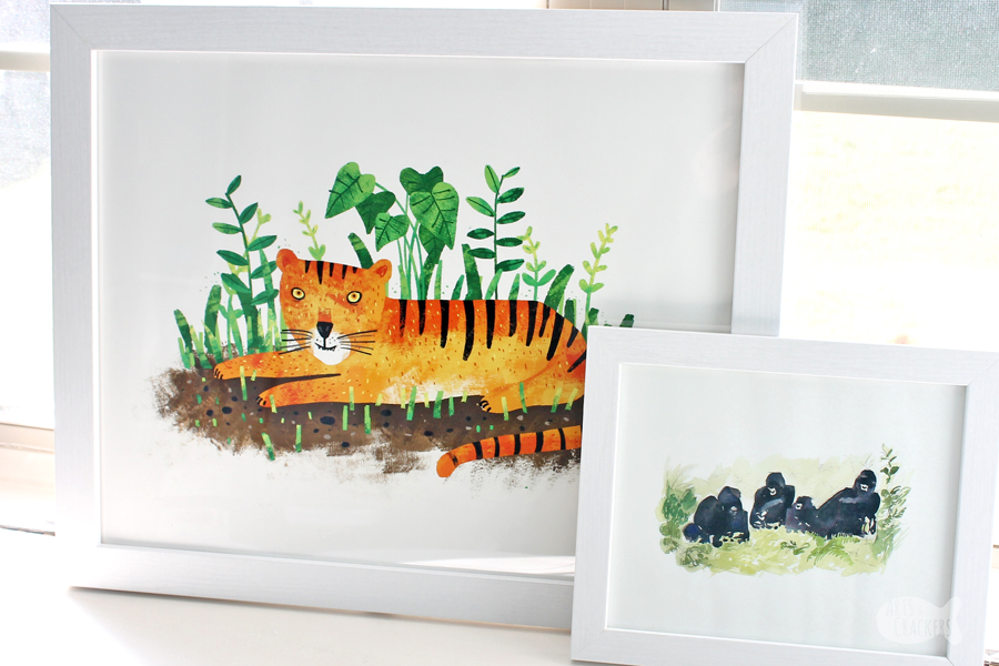 Jungle Book Nook Minted Art