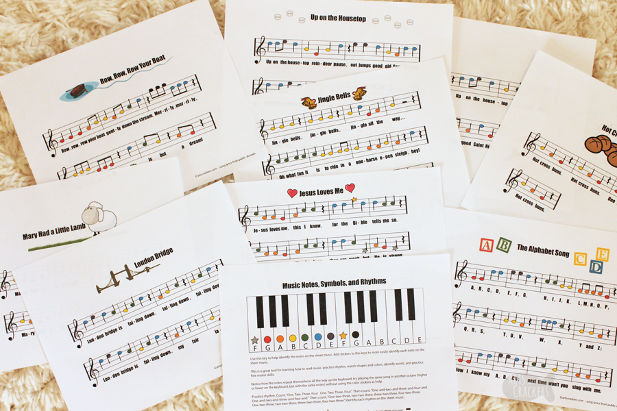 Intro To Reading Sheet Music For Kids Plus Printables