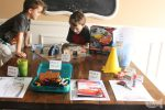 Set Up Your Own Educational Cars-Themed Activity Table for Kids