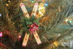 DIY Craft Stick Snow Ski Ornament Adult or Kid-Made Craft