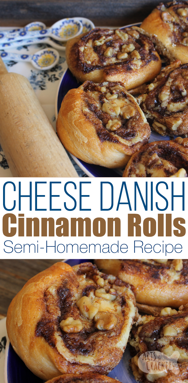 Be the talk of the Brunch with this drool-worthy Cheese Danish Cinnamon Roll recipe, combining a creamy Cheese Danish filling with classic Cinnamon Rolls | Breakfast Recipe | Dessert | Crescent Rolls | Pastry | #recipe #brunchrecipe #cinnamonrolls #breakfastrecipe #foodgawker #foodie