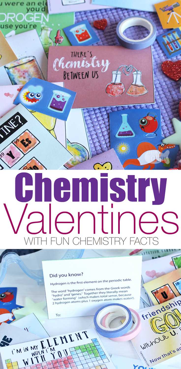 Printable chemistry valentines for kids with chemistry facts print these chemistry valentines for kids with fun chemistry facts on the back and unique urtaz Choice Image