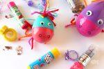 Cute DIY Plastic Unicorn Easter Eggs for Easter Egg Hunts