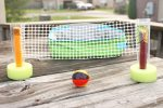 Tabletop Beach Volleyball Snack and Summer Activity for Kids