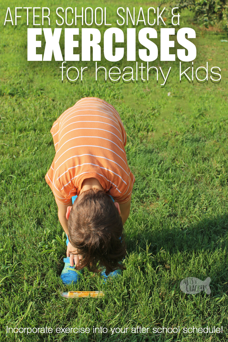 Raise healthy kids with this healthy after school snack and exercise for kids activity | healthy kids | exercise routine | exercise for kids | after school activity | after school routine | kid fitness #healthykids #exerciseroutine #kidfitness #healthysnacking