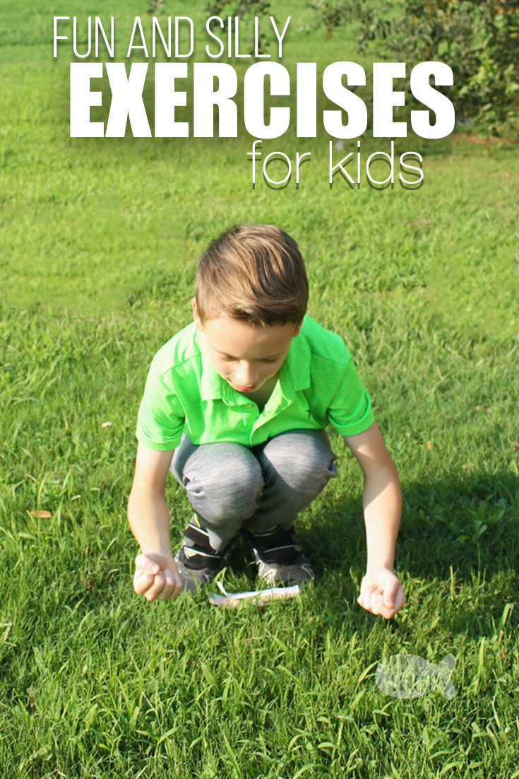 Encourage healthy kids with these silly and fun exercises for kids | kid fitness | kid exercise routine | kid workout | active kids | healthy kid lifestyle #exercises #healthylife #kidhealth