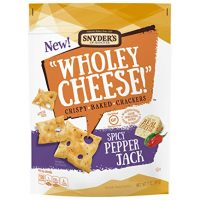 Wholey Cheese! Gluten Free Baked Crackers