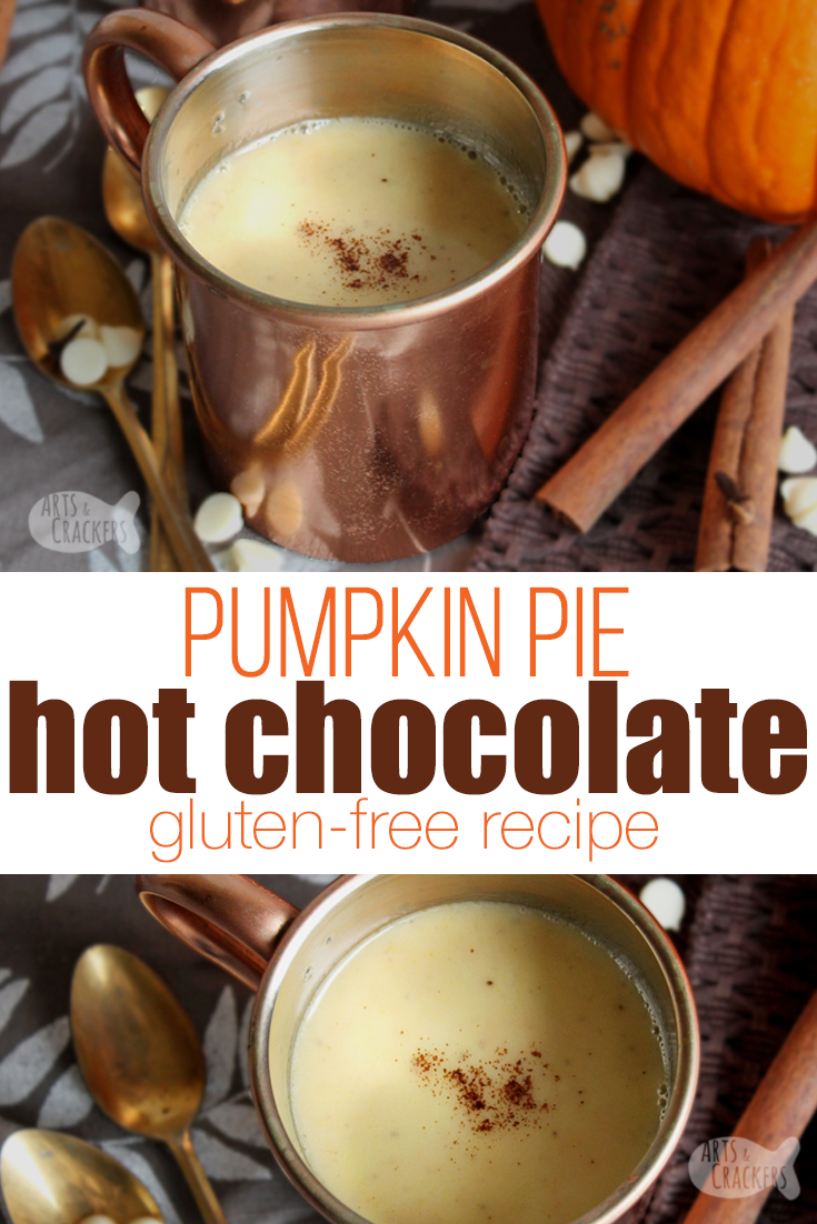 Gluten Free Pumpkin Pie Hot Chocolate Recipe | Fall ...