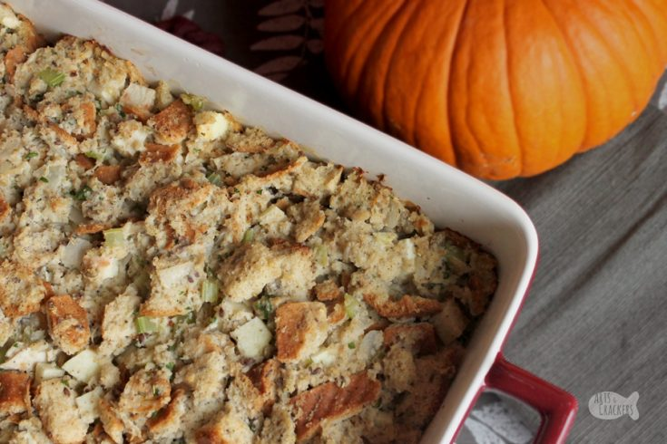 Gluten-Free Turkey Apple Stuffing
