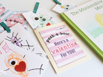 Kids will love making these Cute Monster Bookmarks and even handing them out as Valentines | Monster Valentines | Valentines for boys | handmade Valentines | handmade bookmarks | Scribble Monsters | Process Art for Kids | Monster Craft | Valentines for Kids | Bookmarks for Kids | Printable Valentines | Kids Crafts | Crafts for Book Lovers