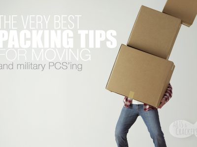Getting ready to move? These packing tips for moving and our digital/printable moving checklist is such a helpful moving resource | military PCS move | moving tips | moving house | moving checklist | moving tips | PCS resources | moving boxes #moving #home #militaryresources #pcs
