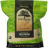 truRoots Organic Quinoa 100% Whole Grain Premium Quality, 1Pack (3 lbs Each)