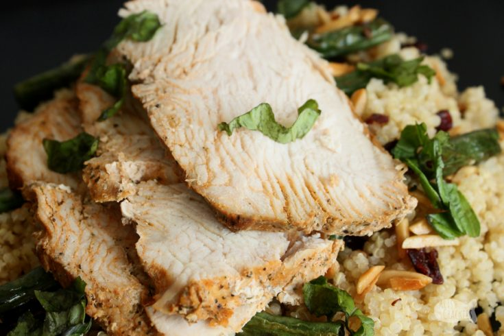 Turkey or Chicken Quinoa Bowl