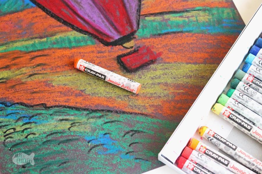 Teach elementary art class with this lesson on Fauvism for kids | Art Teacher | Art Class | Fauvism | Post-Impressionism | Matisse | Art Lessons | Art Activities for Kids | Art for Kids | Kid Art | Teacher Resources | Homeschool | Learning Activities | Oil Pastels | Cray Pas | Hot Air Balloon #artforkids #artteacher #earlyelementary #learningactivities #kidblogger