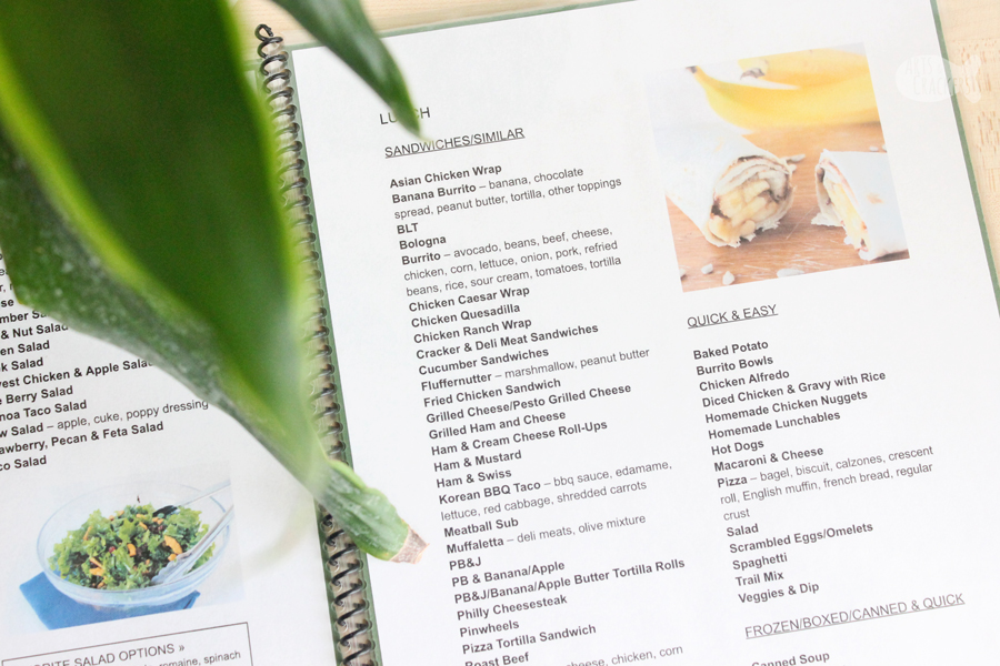 Plan meals for the week with ease using our Incredible Meal Planning Menu. It is full of ideas for every meal of the day, no more guessing | Meal Plan | Menu Ideas | Dinner Ideas | Family Dinner | Organization | Printables | Kitchen Organization | Life Hack | Weekly Menu | Home Organization | Meal Planner | Meal Ideas for Families #mealplan #getorganized #dinnerideas