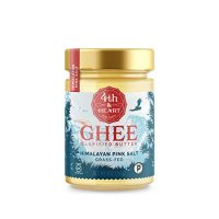 Himalayan Pink Salt Grass-Fed Ghee Butter by 4th & Heart