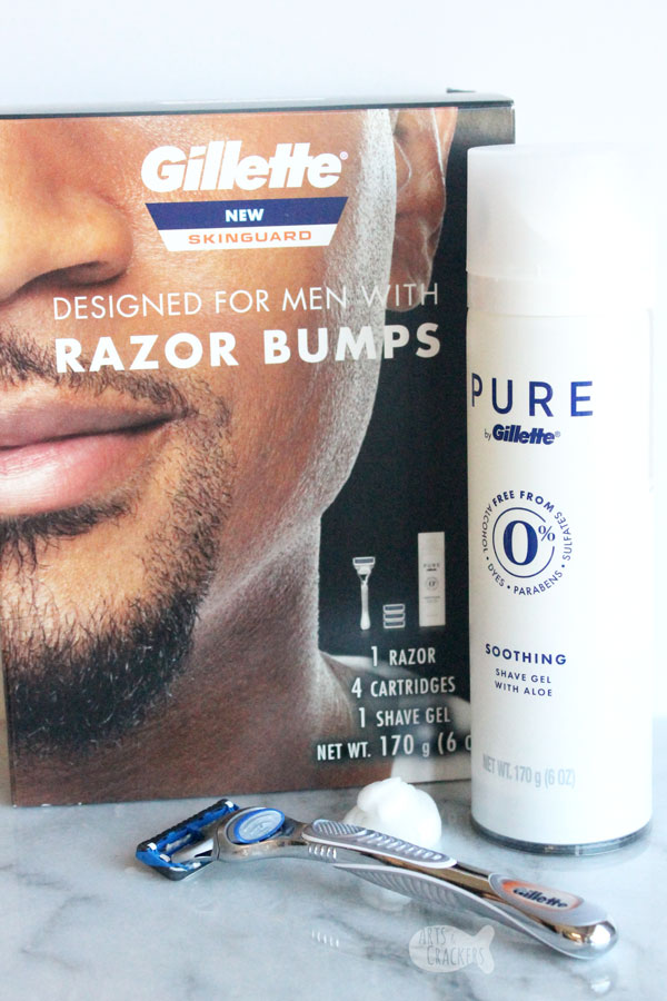 If you struggle with sensitive skin, razor burn, and razor bumps, you'll appreciate these tips from a military service member on how to shave your face when you have sensitive skin | shaving tips | shaving preparation | shaving tips for men | shaving sensitive skin | prevent razor bumps | Gillette SkinGuard | resources for military men | men's grooming | shave your beard | hygiene for men| #shavingtips #sensitiveskin #personalcare #military