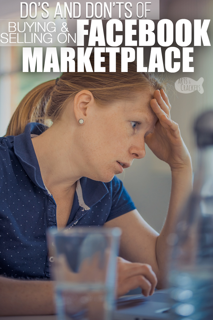 """Online Yard Sales through Facebook Marketplace can be helpful, but there are some general rules of thumb you should follow when buying or selling on Facebook Marketplace. Learn some of the """"Marketplace Manners"""" to ensure successful selling and buying on Marketplace 