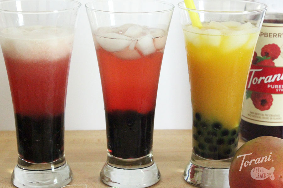 Mix two favorite drink with this Kombucha Bubble Tea recipe | boba tea | boba tea recipe | kombucha | flavored kombucha | kombucha tea recipe | komboba tea | raspberry simple syrup | fermented tea | tea with tapioca pearls | healthy drinks | beverage recipe | #bubbletea #drinkrecipe #kombucha #boba