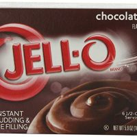 JELLO Chocolate Instant Pudding & Pie Filling Mix  (5.9oz Box)