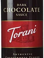 TORANI SAUCE Squeeze Dark Chocolate 16.5oz, 2-pack