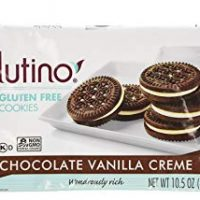 Glutino Chocolate Vanilla Cream Cookies, Gluten Free 10.5 OZ